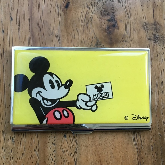 Disney other mickey mouse business card holder poshmark mickey mouse business card holder colourmoves Gallery